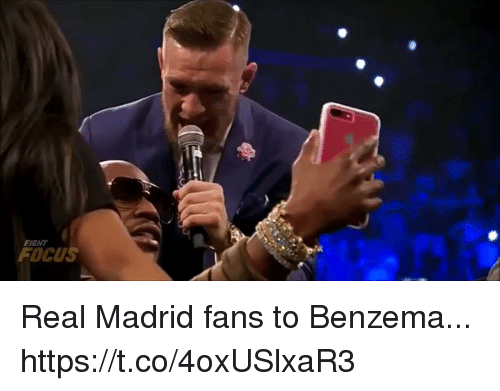 fightings: FIGHT  FOCUS Real Madrid fans to Benzema... https://t.co/4oxUSlxaR3