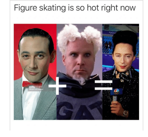 Hot, Now, and Figure Skating: Figure skating is so hot right now