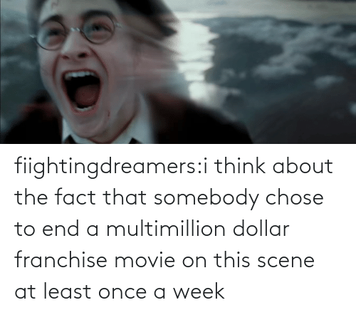 Movie: fiightingdreamers:i think about the fact that somebody chose to end a multimillion dollar franchise movie on this scene at least once a week