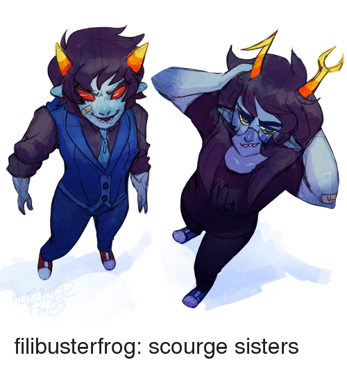 scourge: filibusterfrog:  scourge sisters