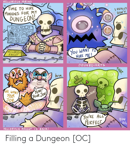 dungeon: Filling a Dungeon [OC]