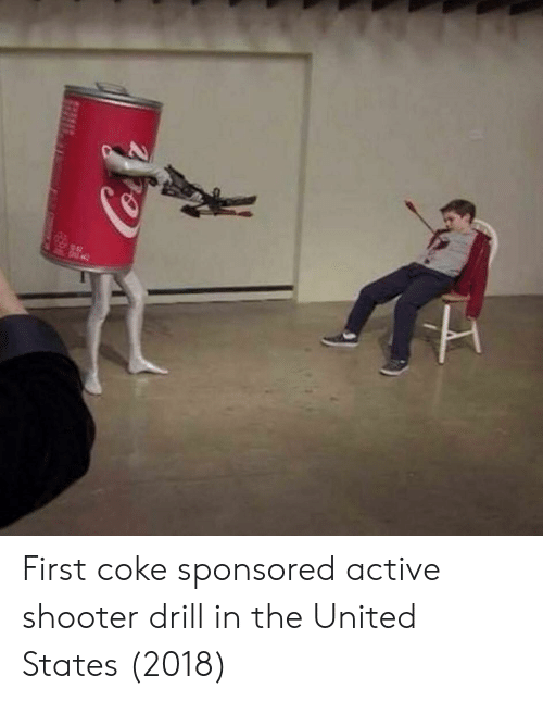 drill: First coke sponsored active shooter drill in the United States (2018)
