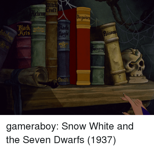 ratt: fitch  ratt  Disguise  Black,  Blach  Magit  Poisons  Deal gameraboy: Snow White and the Seven Dwarfs (1937)