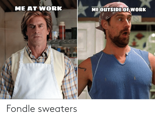 sweaters: Fondle sweaters