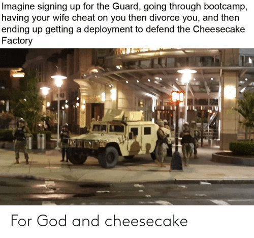 God: For God and cheesecake