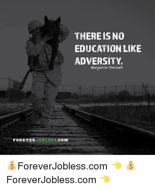 there is no education like adversity Benjamin disraeli there is no education like adversity.