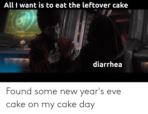 new years eve: Found some new year's eve cake on my cake day