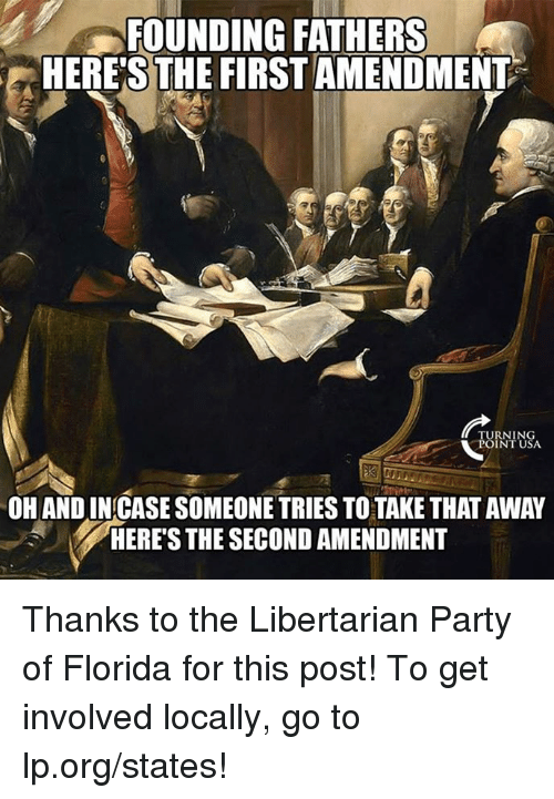 the first and second amendment