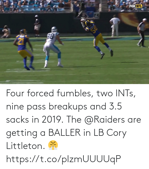 Getting: Four forced fumbles, two INTs, nine pass breakups and 3.5 sacks in 2019.  The @Raiders are getting a BALLER in LB Cory Littleton. 😤 https://t.co/pIzmUUUUqP