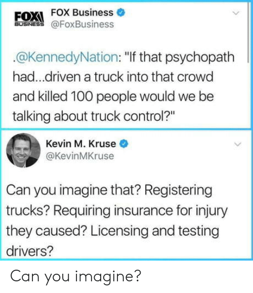 "Anaconda, Control, and Business: FOXI FOX Business o  BUSINES @FoxBusiness  @KennedyNation: ""If that psychopath