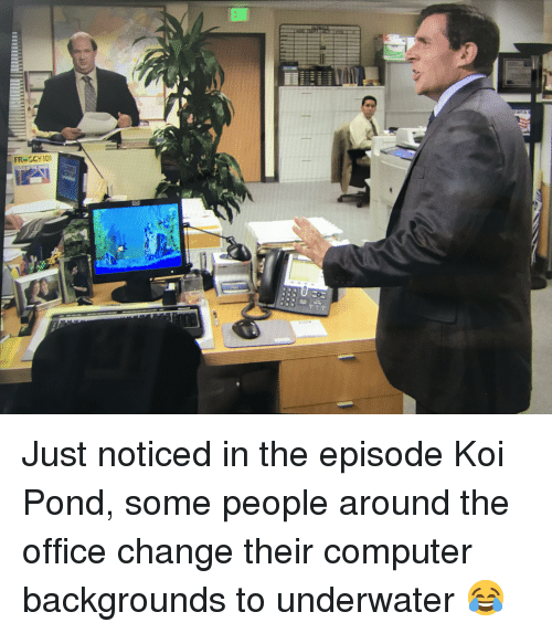 The Office, Computer, and Office: FR-SCY101