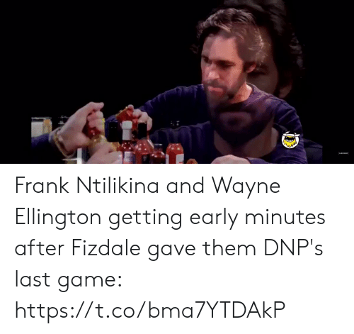 Wayne: Frank Ntilikina and Wayne Ellington getting early minutes after Fizdale gave them DNP's last game:   https://t.co/bma7YTDAkP