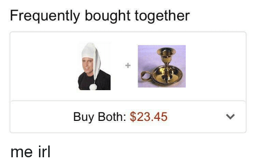 Irl, Me IRL, and Together: Frequently bought together  Buy Both: $23.45