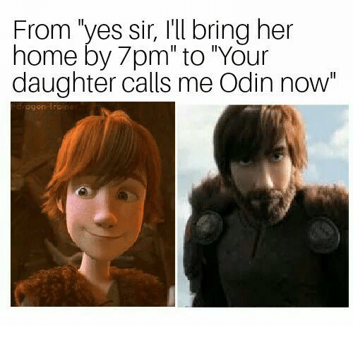 """Home, Odin, and Her: From 'yes sir, I'll bring her  home by 7pm"""" to """"Your  daughter calls me Odin now"""""""