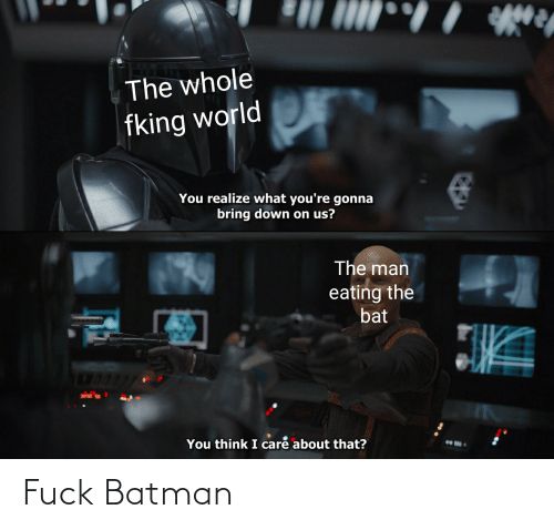 Batman: Fuck Batman