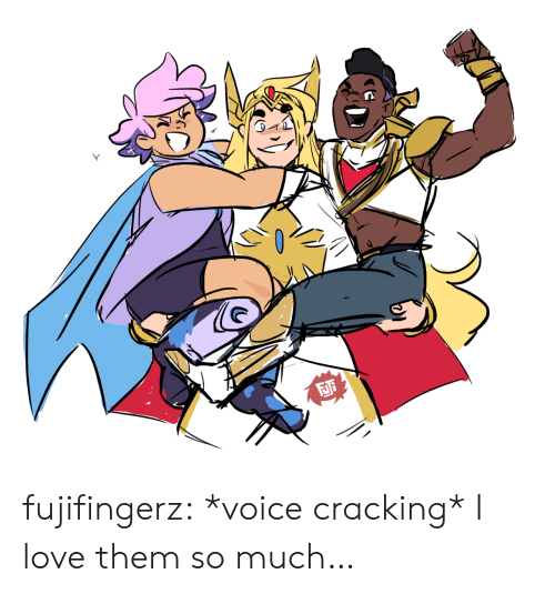 Love, Tumblr, and Blog: fujifingerz:  *voice cracking* I love them so much…