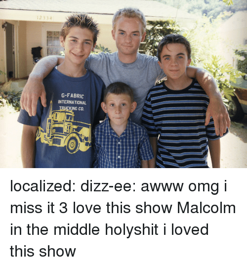 Malcolm in the Middle: G-FABRIC  INTERNATIONAL  CO. localized:  dizz-ee:  awww omg i miss it 3 love this show   Malcolm in the middle holyshit i loved this show