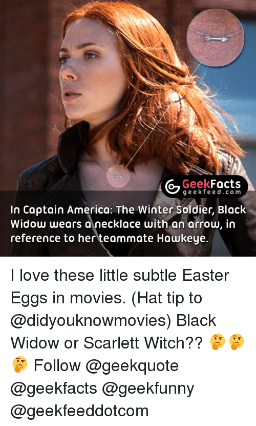 G Geek Facts G E E Fe In Captain America The Winter Soldier