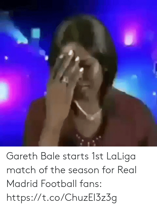 madrid: Gareth Bale starts 1st LaLiga match of the season for Real Madrid  Football fans:  https://t.co/ChuzEI3z3g