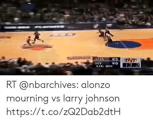 esmemes.com: GARO E MIA  NT  85  41h Oir  06 AN  EEI RT @nbarchives: alonzo mourning vs larry johnson https://t.co/zQ2Dab2dtH
