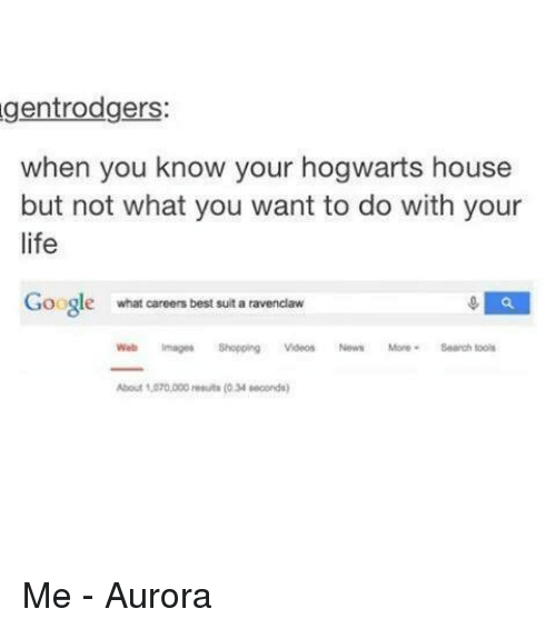 Gentrodgers When You Know Your Hogwarts House but Not What You Want