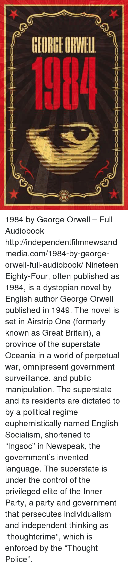 orwells essay Politics and the english language (essay in freedom of expression ) 2 above all, we cannot play ducks and drakes with a native battery of idioms.