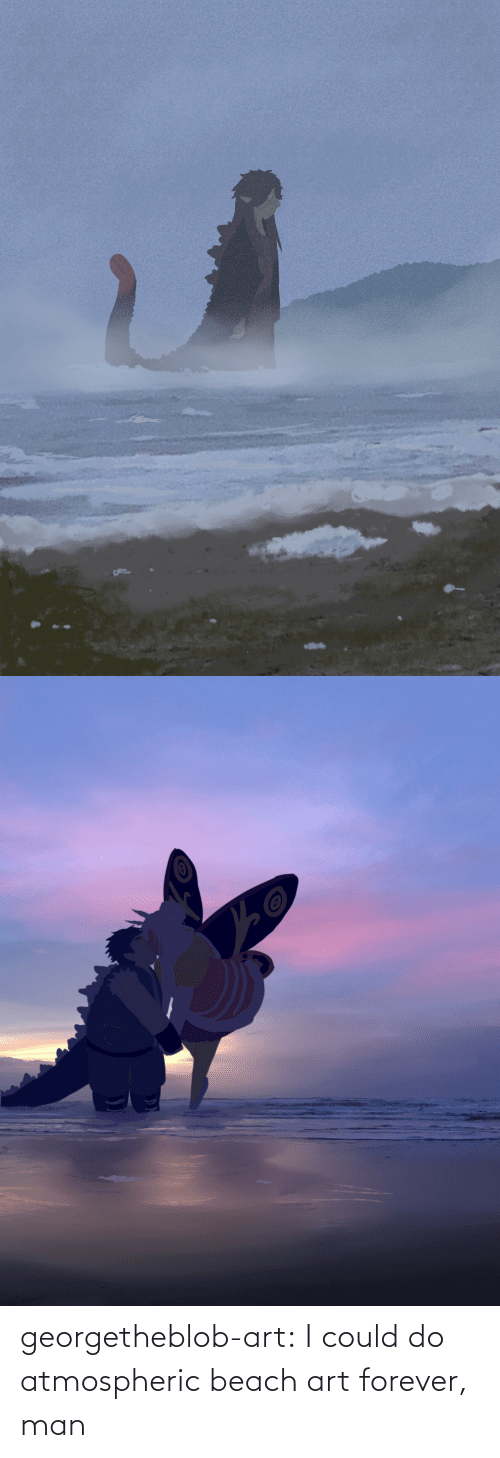 Forever: georgetheblob-art:  I could do atmospheric beach art forever, man