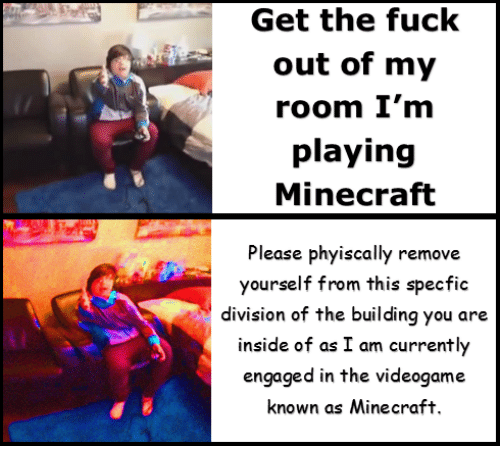 Im Playing Minecraft