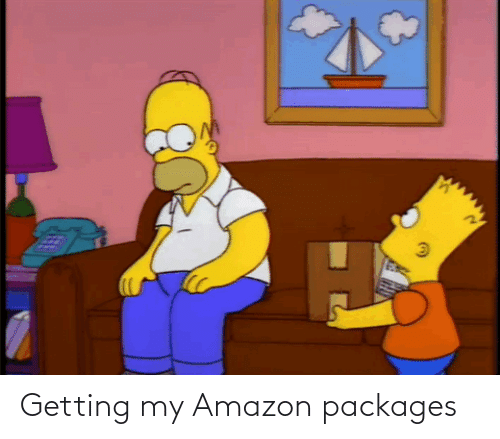 packages: Getting my Amazon packages
