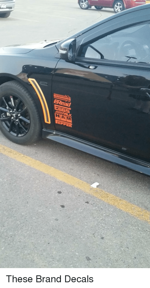 Funny, Brand, and Ham: GGE  HAM These Brand Decals