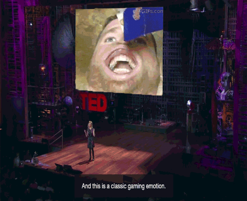 Ted, Gifs, and Gaming: GIFs.con  TED  And this is a classic gaming emotion.