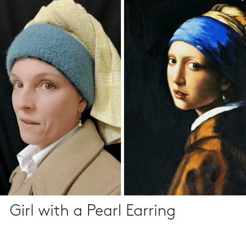 earring: Girl with a Pearl Earring