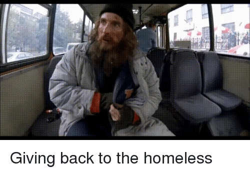 Funny, Homeless, and Back: Giving back to the homeless
