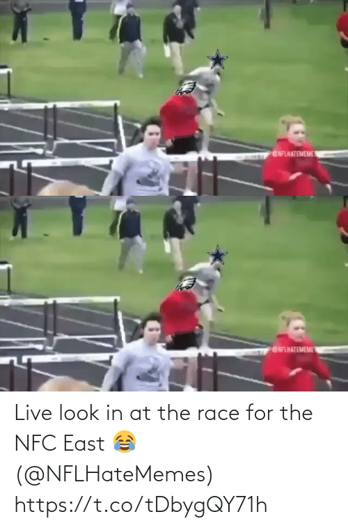 nfc: GNFLHATEMEME   ENFHATEMEME Live look in at the race for the NFC East 😂 (@NFLHateMemes) https://t.co/tDbygQY71h
