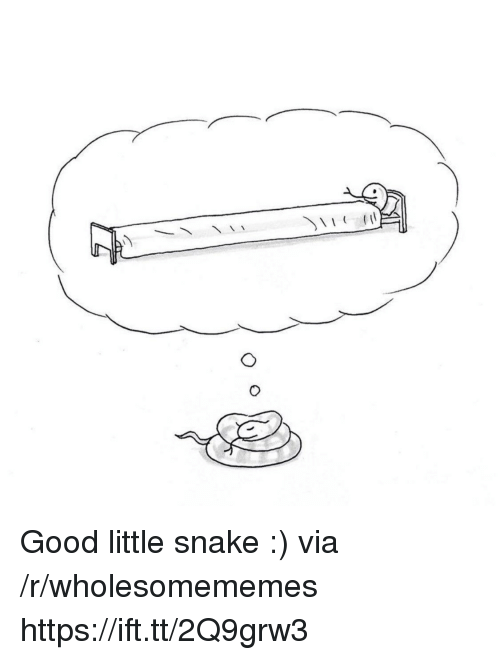 Good, Snake, and Via: Good little snake :) via /r/wholesomememes https://ift.tt/2Q9grw3