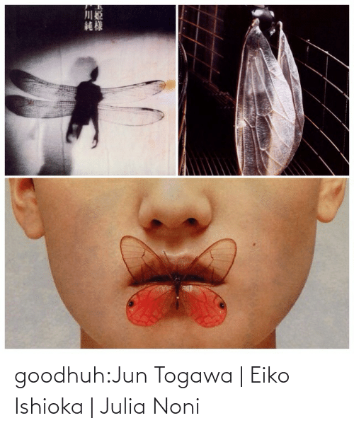 Jun: goodhuh:Jun Togawa | Eiko Ishioka | Julia Noni