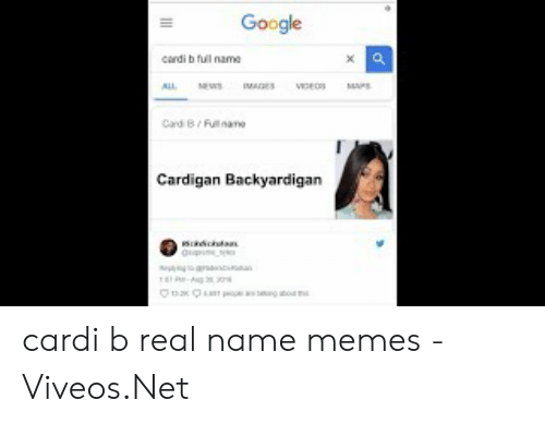 Viveos: Google  cardi b full  Cardigan Backyardigan cardi b real name memes - 免费在线视频最佳电影电视节目 - Viveos.Net