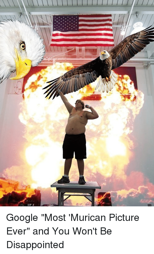 "Googłe: Google ""Most 'Murican Picture Ever"" and You Won't Be Disappointed"
