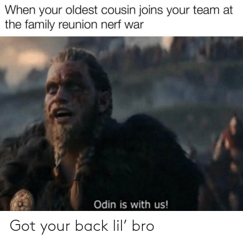 lil: Got your back lil' bro