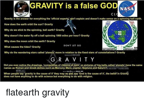 gravity why does it exist Gravity the average person probably doesn't think about it on a daily basis, but yet gravity affects our every move because of gravity, we fall down (not up), objects crash to the floor, and we don't go flying off into space when we jump in the.