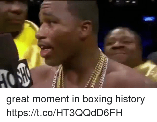 Boxing, Funny, and History: great moment in boxing history https://t.co/HT3QQdD6FH