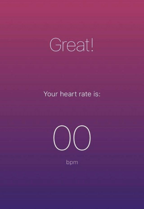 Heart, Bpm, and Heart Rate: Great!  Your heart rate is:  00  bpm