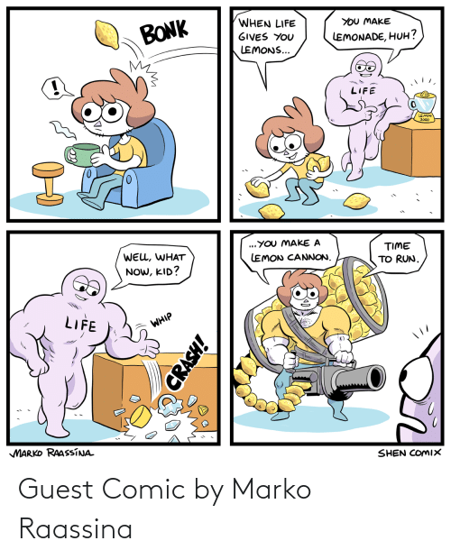 Guest: Guest Comic by Marko Raassina