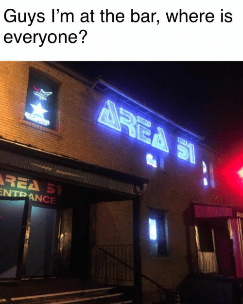 rea: Guys I'm at the bar, where is  everyone?  REA S  REA S1  ENTRANCE