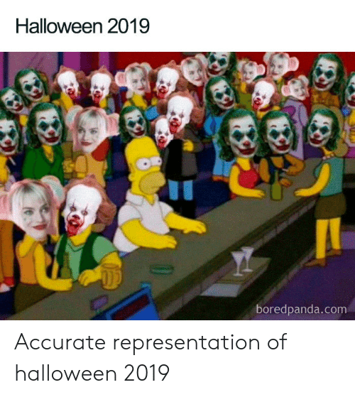 Halloween, Accurate Representation, and Com: Halloween 2019  boredpanda.com Accurate representation of halloween 2019