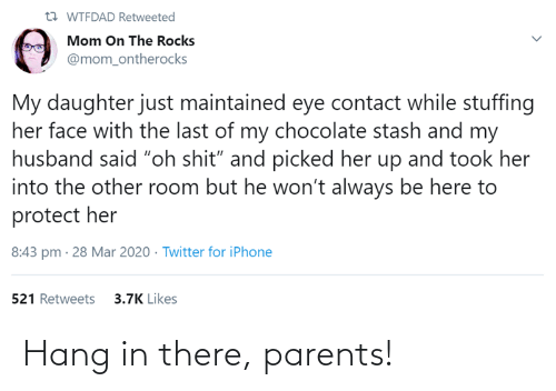 In There: Hang in there, parents!