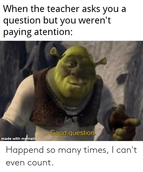 cant even: Happend so many times, I can't even count.
