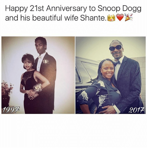 Dogges: Happy 21st Anniversary to Snoop Dogg  and his beautiful wife Shante.  1992  201