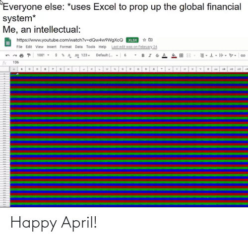 April: Happy April!