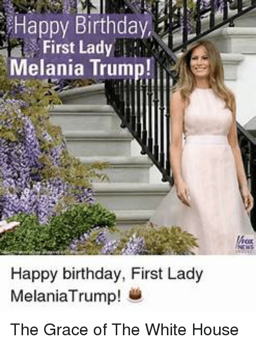 melania trump birthday - 500×566